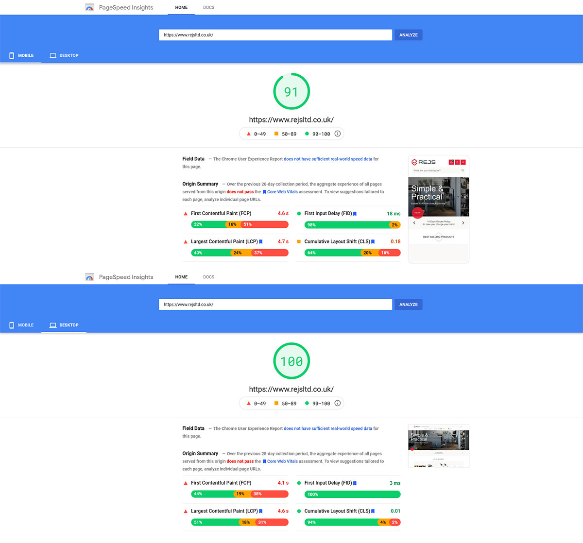 Aktualna prędkość GoogleSpeed