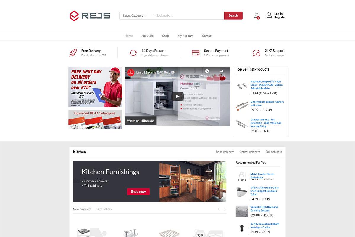 Poprzedni design sklepu